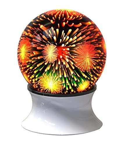 WSTERAO Lámpara de cabecera LED con Altavoz Bluetooth, lámpara de Mesa de Ambiente Regulable para la Sala de Estar del Dormitorio, Regalo para niños, Adolescentes, Mujeres, Hombres