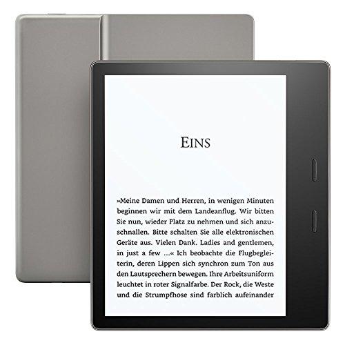 Kindle Oasis eReader – Grafit, wasserfest, hochauflösendes 7-Zoll-Display