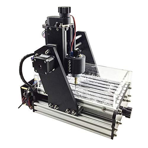 Mini CNC-freesmachine, 3-assig DIY PCB hout met stofbak-licht graveermachine Standard