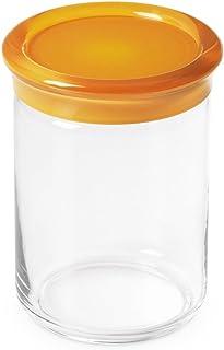 Omada Design jar in PLASTIC with a plastic closing cap, 33,81 fl oz, 5,90 inch tall, Trendy Line