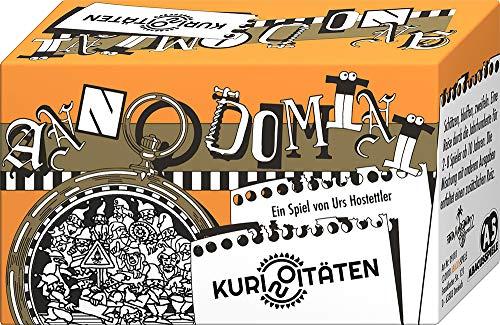 ABACUSSPIELE 09181 - Anno Domini - Kuriositäten, Quizspiel, Kartenspiel