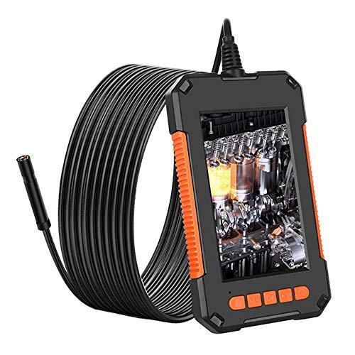Endoskopkamera mit Licht Fasttobuy 1080P HD Endoskop mit 4,3 Zoll IPS Bildschirm, Inspektionskamera mit 8 Einstellbare LED Licht, IP67 Wasserdicht Rohrkamera mit 5 Meter Kabel, 32GB TF Karte