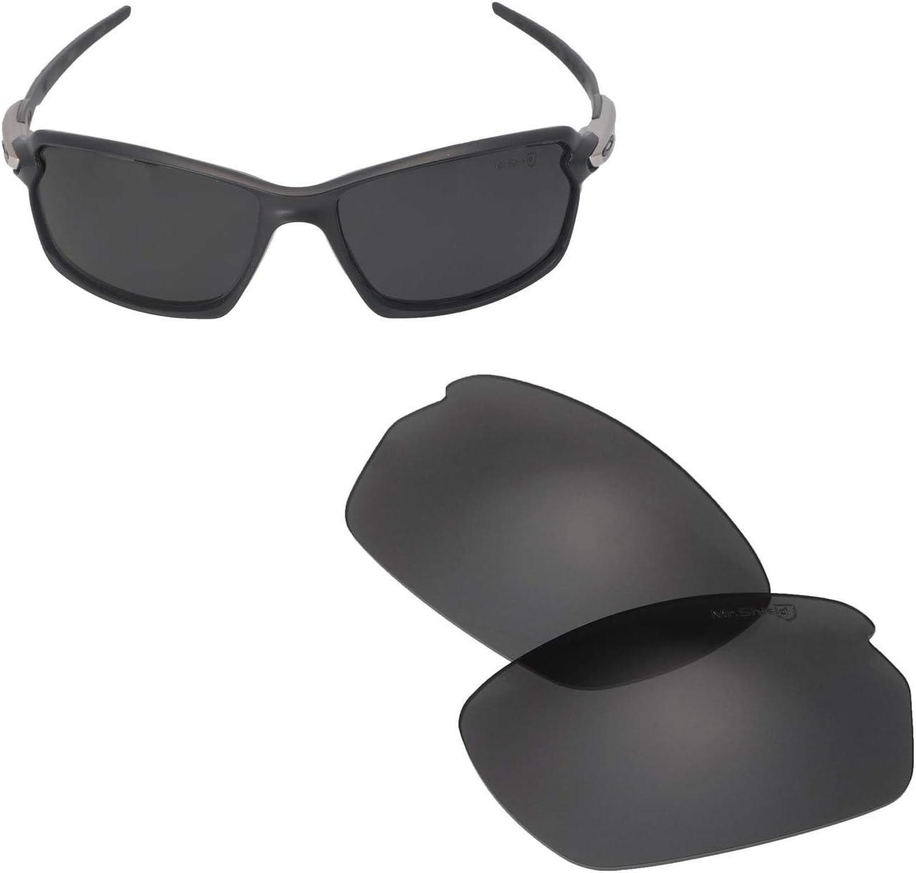 Walleva Replacement Max 46% OFF Lenses Regular discount for Oakley - Carbon Sunglasses Shift