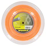 Volkl - Cyclone - Cuerda para raqueta de tenis, 200 m, color naranja,...