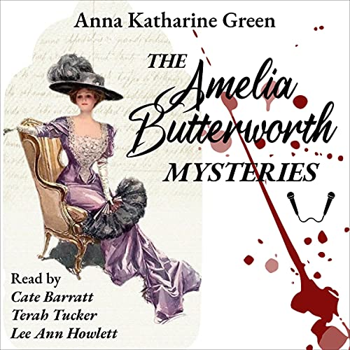 The Amelia Butterworth Mysteries cover art
