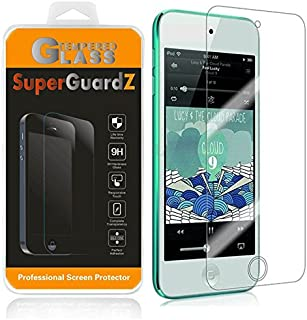 [2-Pack] For iPod Touch 6 (6th Generation) / 5 (5th Generation) - SuperGuardZ Tempered Glass Screen Protector, 9H, 0.3mm, 2.5D Round Edge, Anti-Scratch, Anti-Bubble