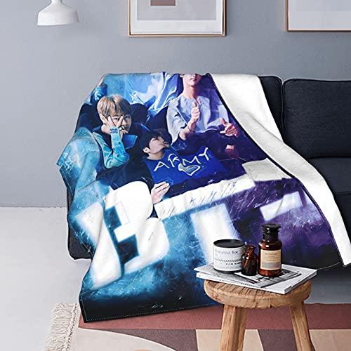"""Blanket Manta Polar para Cama Y Sofá (100% Microfibra, 40""""X50""""/50""""X60""""/60""""X80""""), DiseñO De Dibujos Animados (130x150cm)"""