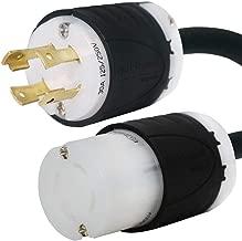 Iron Box NEMA L14-30 Generator Extension Cord - 30A, 125/250V, 8/4 SOOW - UL Listed IBX-5805 (10 ft)