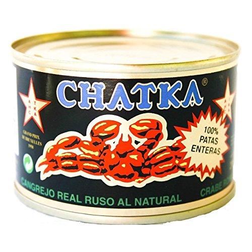 Chatka Königskrabbe 100% Beinfleisch (Dose) (185 g)