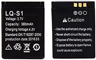 Rechargeable Li-ion polymer battery 380mAh 3.7V For DZ09 Smart Watch