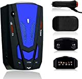 Berfee New 2020 Radar Detector, Voice Alert and Car Speed Alarm System, City/Highway Mode 360 Degree Detection Radar Detectors with LED Display for Cars (FCC Approved)