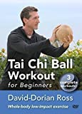 Tai Chi Ball Workout for Beginners with David-Dorian Ross - YMAA Tai Chi Exercise **BESTSELLER**