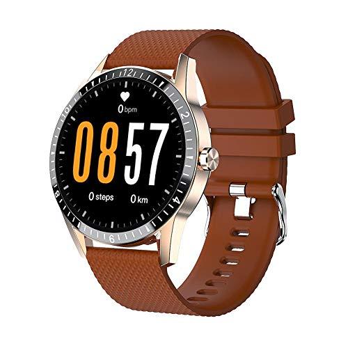 ZHUOTOP Pulsera Inteligente Llamada Bluetooth Deportes Fitness frecuencia cardíaca presión Arterial Hombres Reloj de música Impermeable Pulsera Deportiva