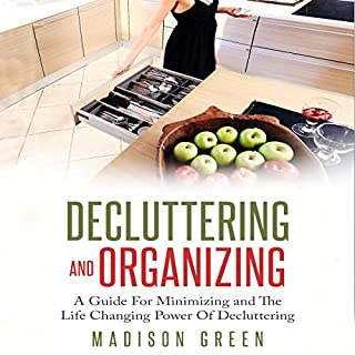 Decluttering and Organizing audiobook cover art