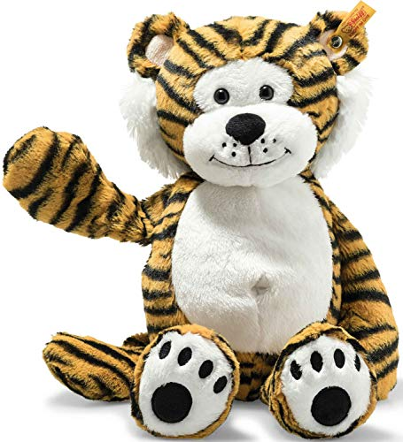 Steiff 66146 Soft Cuddly Friends Toni Tiger, gestreift