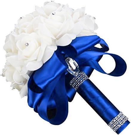 Royal blue bouquet _image1