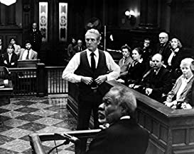 Erthstore 16x20 inch Fine Art Poster of Paul Newman as Frank Galvin The Verdict in Courtroom with Jury Behind Him