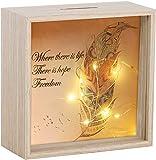 HautStore Hucha con Forma de Caja, Holiday Fund Hogar Oficina Tienda Muebles Decoración Interiores Accesorios Regalar 18 x...
