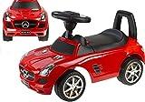 Mercedes Benz antideslizante Auto para bebés Rojo
