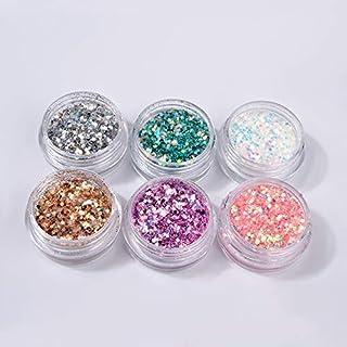 Spijker glitter Nail Art Decorations Tool Mixed Nail Glitter Poeder Pailletten Shining Kleurrijke Nail Flakes 3D DIY Charm...