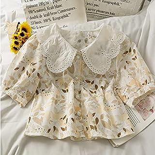 Wanxiaoyyyindx T Shirts for Women, Women's Casual Hollow Short-sleeved Flower Blouse, Women's Blouse, Female Student Shirt...