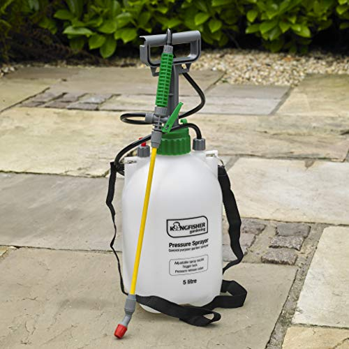 Kingfisher PS4003 Pump Action Pressure Garden Sprayer,5 L