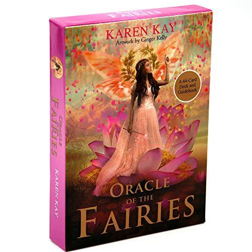 L'Oracle des fées Un Jeu de 44 Cartes et Un Guide Karen Kay Game Fay Toy Fairy Tarot Realm of Magic and Manifest Wonders
