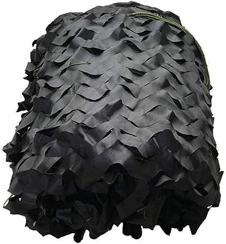 Filet de camouflage Filet De Camouflage Noir Pur Pour La Chasse Extérieure Tirant La Décoration Cachée De Halloween Taille Facultative pour les jardins d'ombre extérieurs (Taille   10m10m)