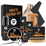 MayBeau Beard Kit for Men Beard Care 9 in 1 Beard Grooming Kit