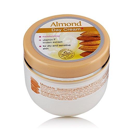 Mandel Feuchtigkeitsspendende Tagescreme mit Mandelöl für trockene und empfindliche Haut