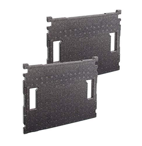 Bosch Sortimo Deckeleinlage für L BOXX   2 Stück im Set   geeignet für L-Boxx 102 bis 374   nur altes Modell