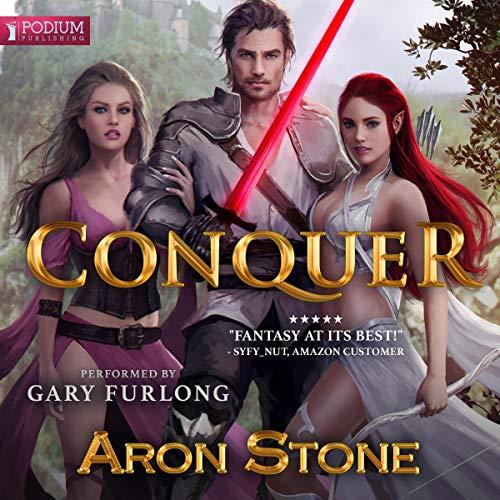 Conquer audiobook cover art