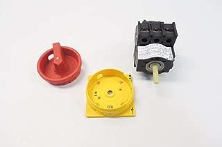 NEW EATON P1-25/EA/SVB MOELLER 600V-AC 20A AMP MAIN SWITCH D528218