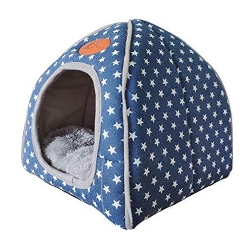Dacitiery Abdeckung für Hundekäfige, langlebig, winddicht, für den Innen- und Außenbereich, Blau