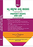 Property Rights and Law In Kannada