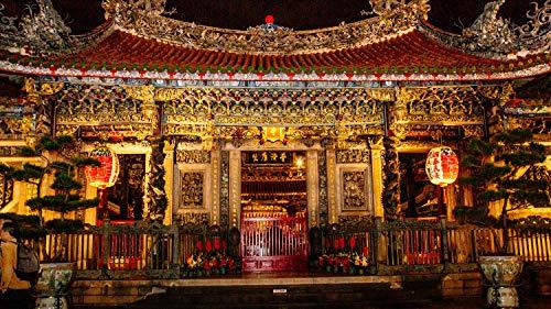 Virtually experience Taiwan's religious customs at Taipei's Longshan Temple