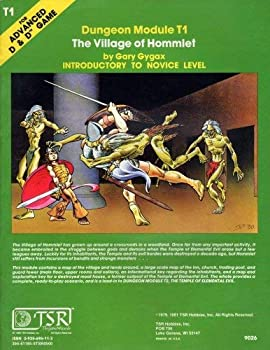 The Village of Hommlet (Advanced Dungeons & Dragons Module T1) - Book  of the Advanced Dungeons and Dragons Module #C4