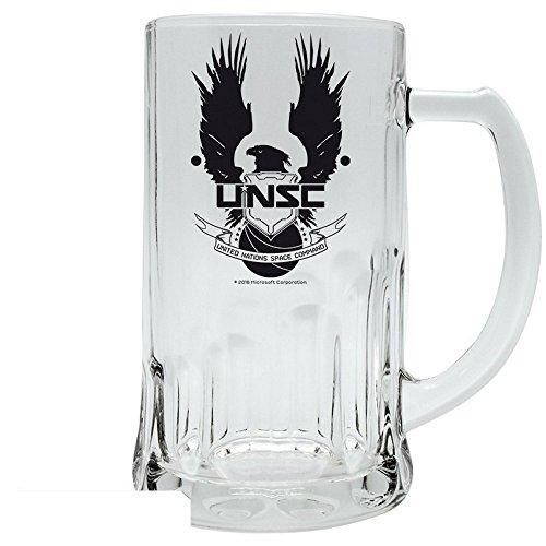 Halo – Jarra de cerveza de cristal – UNSC – 500 ml