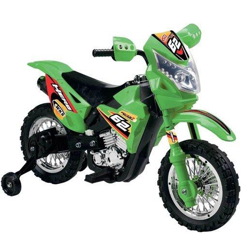 Varie Moto elettriche 6 Volt per bambini con luci e suoni. Motocicletta elettrica enduro per bimbo con rotelle.