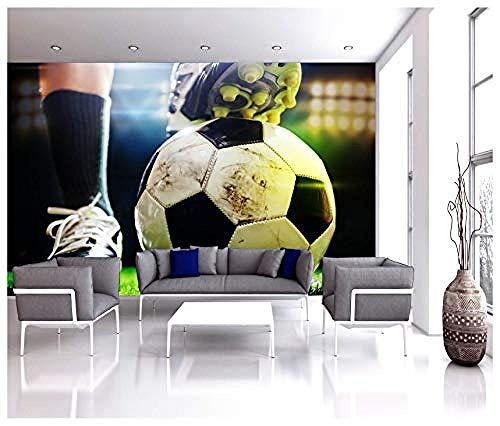 Relovsk wandbehang, voetbalschoen, sport, wandbehang, fotobehang, kinderen, thuisdecoratie 150 x 105 cm.