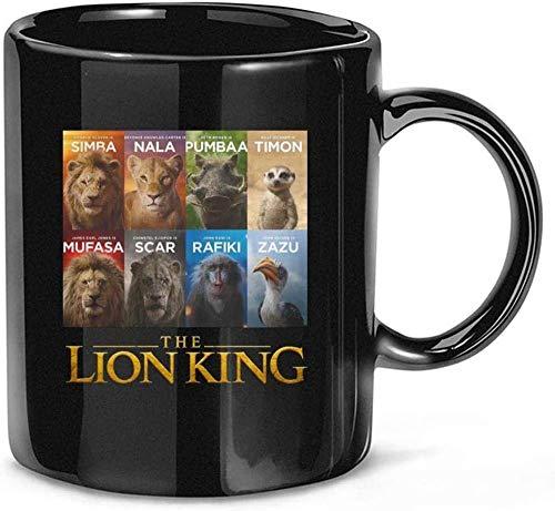 N\A The #Lion #King #Simba #Nala #Pumbaa #Timon #Mufasa Ceramic Gift Tazas Divertidas Tazas