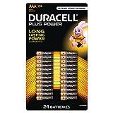 Duracell AAA Batterie, confezione da 24
