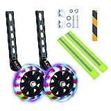 Kids' Bicycle Training Wheels Flash Mute Heavy Duty Rear Wheel with...