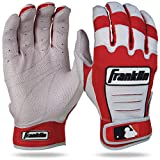 Franklin Sports MLB CFX Pro Guantes de bateo, Unisex, Color Rot/Pearl, tamaño Erwachsene XXL