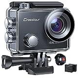 Crosstour Caméra Sport 4K, CT9000 Ultra HD...