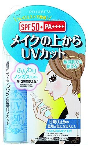 F97 Japan PRIVACY Face Sunscreen Spray SPF 50+ PA++++ 40ml