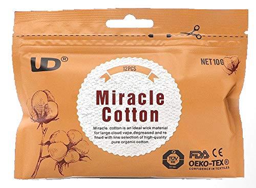 UD Miracle Cotton unbehandelte Baumwolle für Selbstwickler 2 Packungen