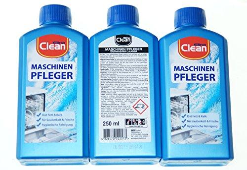 3x 250ml MaschinenPfleger - Reiniger für Spülmaschinen gegen Kalk und Fett