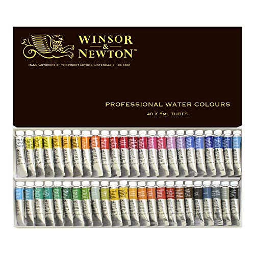 Winsor & Newton Artists Water 5ML tube 48C set (japan import)
