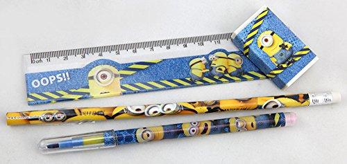 Idealtrend Undercover Schulset Minions 4-teilig Schreibset Bleistift Schulbedarf